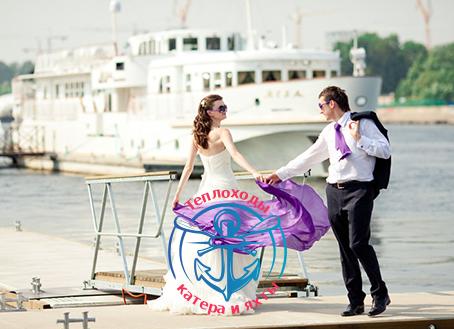 свадьба на теплоходе 2014 в Санкт-Петербурге